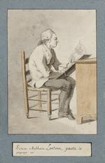 Alexis Grognard, Portrait de Lantara, peintre de paysages.