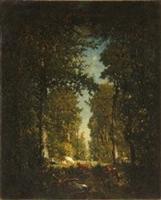 Une avenue ou Une avenue, forêt de l'Isle Adam.