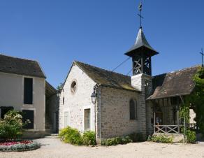 Maison de Théodore Rousseau et chapelle de Barbizon.