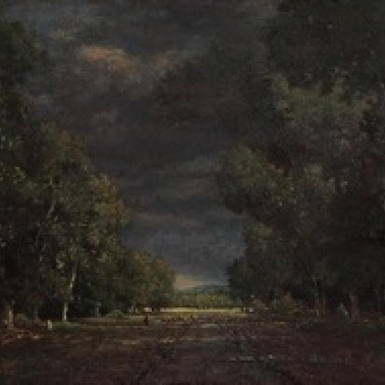 Théodore Rousseau, Le Pavé de Chailly.